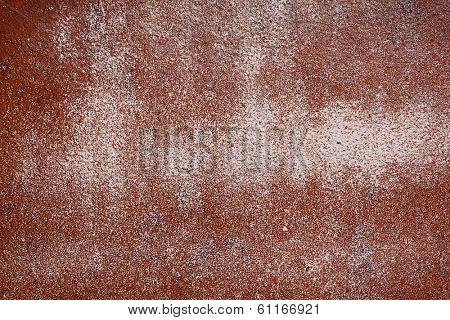 Rust And brown Peeling Paint Background