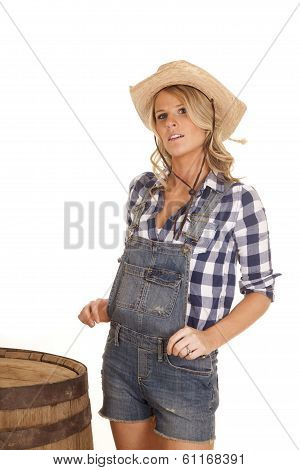 Cowgirl in Overalls