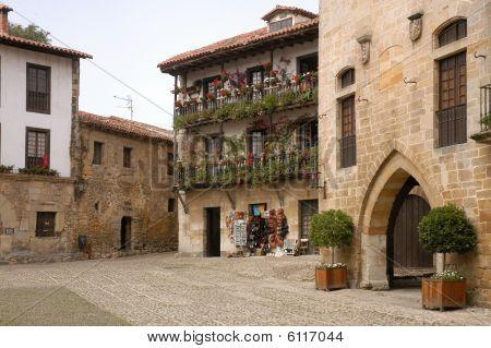 The old House Santillana