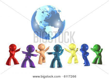 Celebrating diversity on  earth