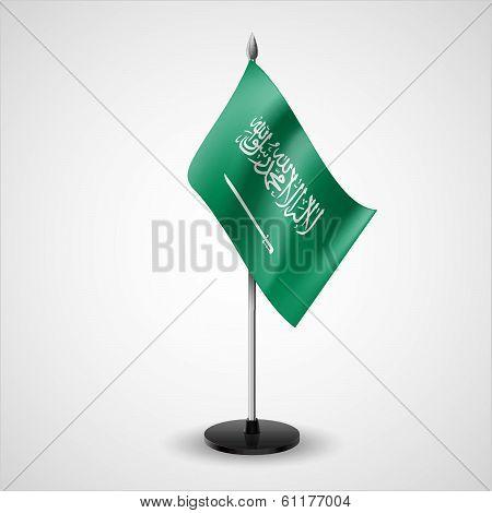 Table flag of Saudi Arabia