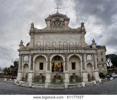 Fontana Dell' Acqua Paola, Rome