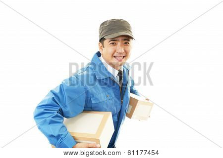 A courier service