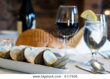 Clam Boat On The Table