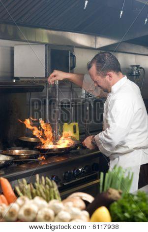 Working Chef