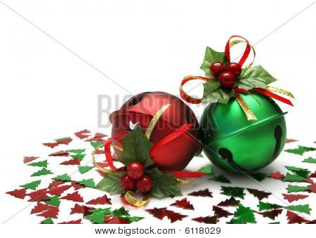 Jingle Bells mit glitter