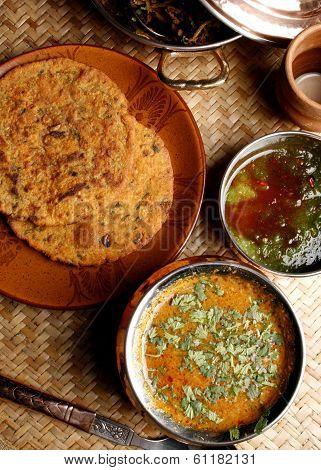 Gatte Ki Sabzi - A Popular Rajasthani Dish