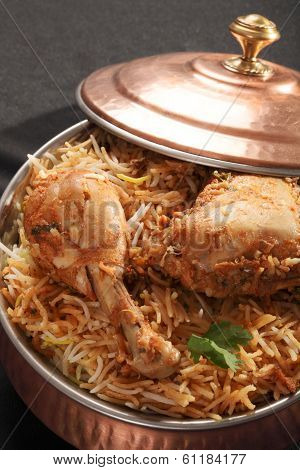 Hyderabadi Biryani - A Popular Chicken Or Mutton Based Biryani from Hyderabad