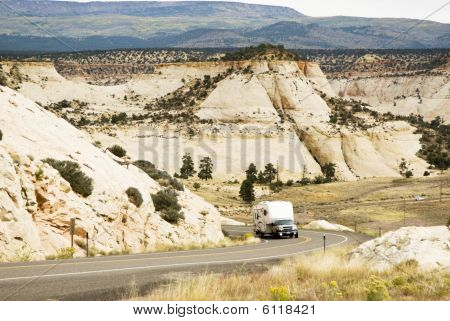 Rv In Grand Staircase-escalante