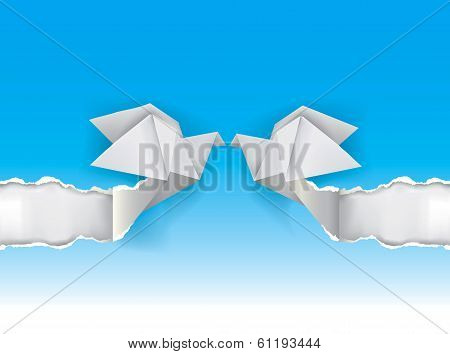 Origami_doves_wedding_background