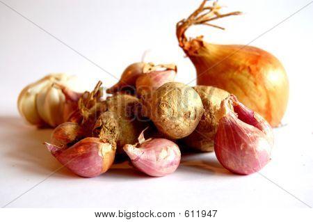 Ginger Onion Garlic