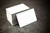 Постер, плакат: Business Cards With Rounded Corners