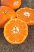 pic of satsuma  - Nadorcott sweet and juicy type of satsuma - JPG