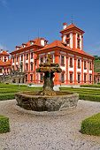picture of manor  - Chateau Troja manor house - JPG