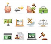 Finance, Business and Savings - Harmony Icon Set n°0103