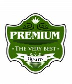 Premium The Very Best  label