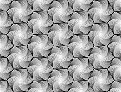 foto of hexagon pattern  - Design seamless monochrome hexagon geometric pattern - JPG