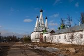 picture of uglich  - Ancient female Alexius monastery in the town of Uglich - JPG