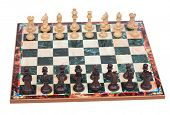 pic of chessboard  - Ready to start the game - JPG