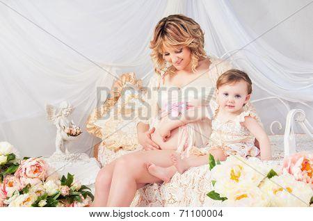 Pregnancy, Children, Family - God's Blessing.