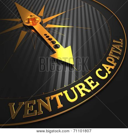 Venture Capital - Golden Compass Needle.