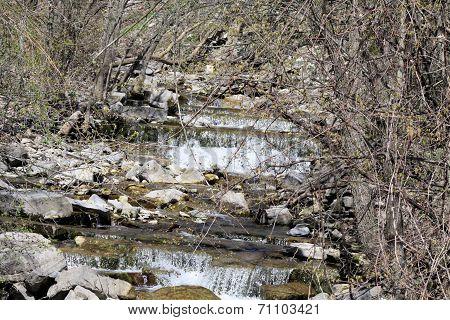 Cascading little Water Falls