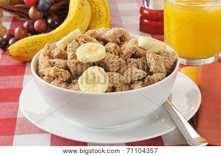 Shredded Organic Wheat Breakfast Cereal