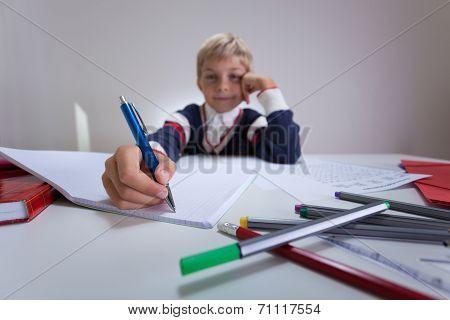 Doing Homework After School
