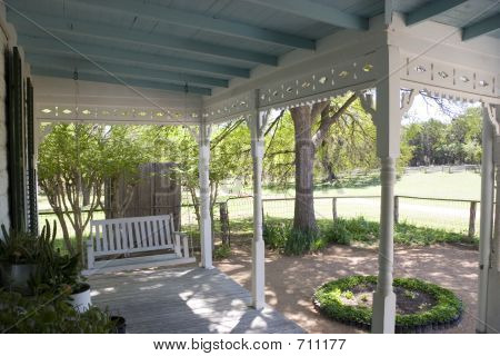 Vintage Country Front Porch