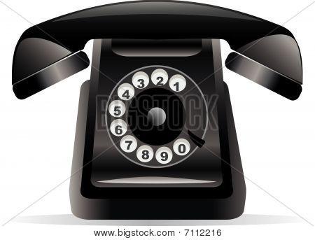 Classic Black Phone