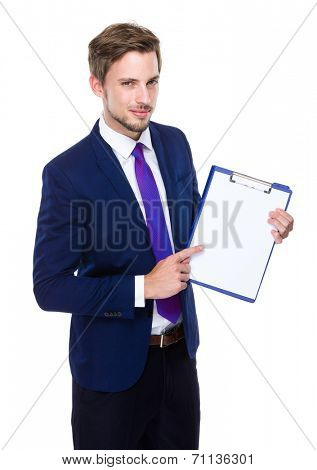 Male with clipboard