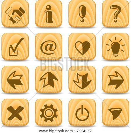 Ícones de sinais