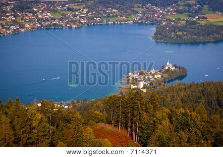 Woerthersee Lake In Austria