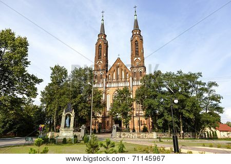 Neo-gothic Style Church In Sadowne