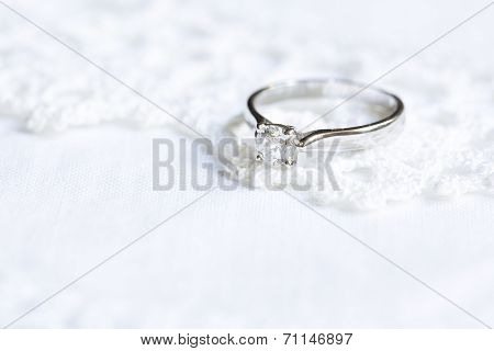 Precious Ring With Diamond