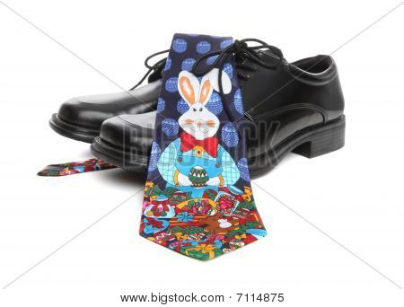 Business Man Easter Tie