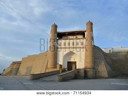 Entrance  To Ark Fortress (bukhara)