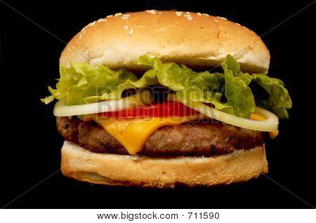 tiempo de la hamburguesa