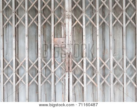 Old Horizontal Shutter Doors