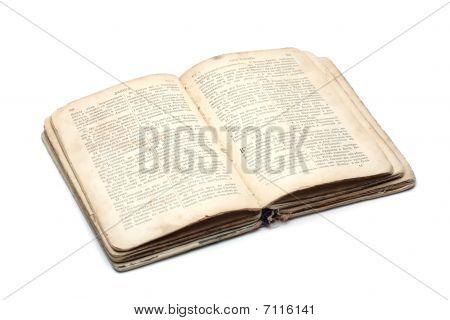 Open An Ancient Religious Book