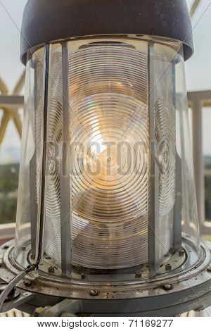 lighthouse light closeup