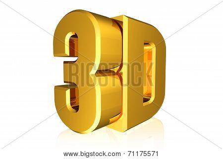 Shiny 3D Word