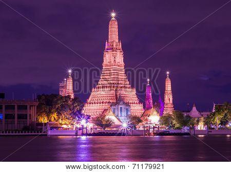 Photo Of Landscape Wat Arun Buddhist