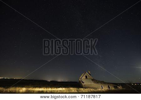 Night Sky in South Dakota