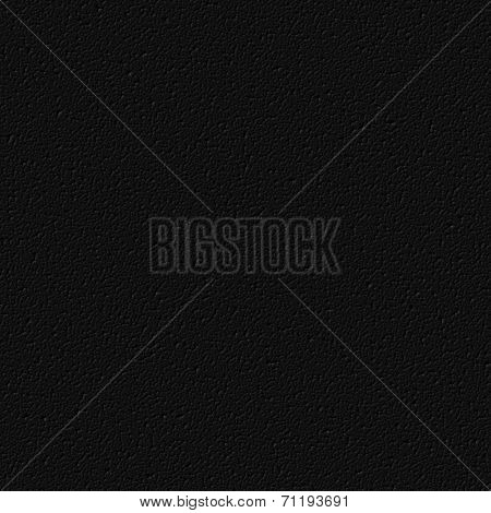 Black Artificial Leather 3D Texture