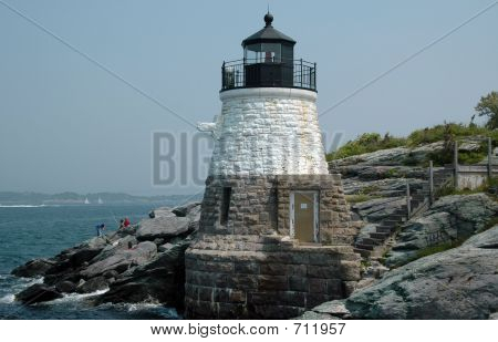 Castle Hill Light, Newport, RI