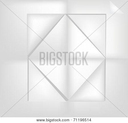 Paper Rhombus.