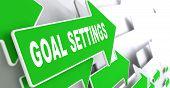 pic of goal setting  - Goal Settings on Direction Sign  - JPG