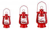 image of kerosene lamp  - Evolution concept - JPG