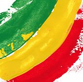 picture of reggae  - reggae colors - JPG